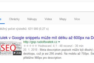 Google SERP preview